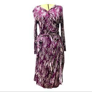 Wrap Maternity Nursing Dress by Predict M